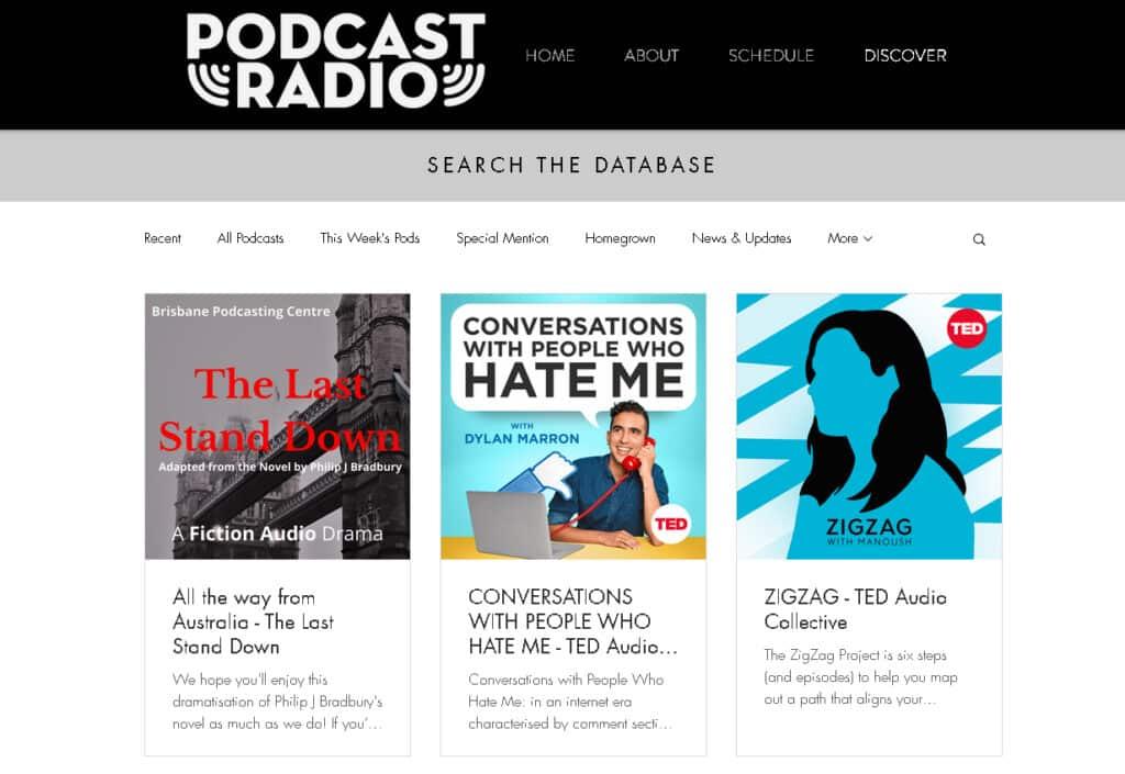 Podcast Radio shows