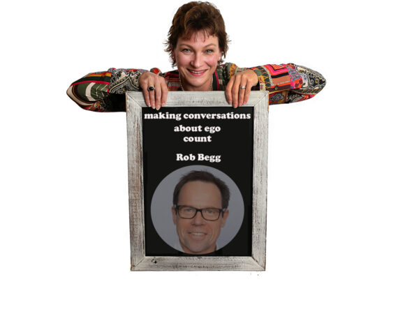 Making Conversation Count poster featuring Rob Begg